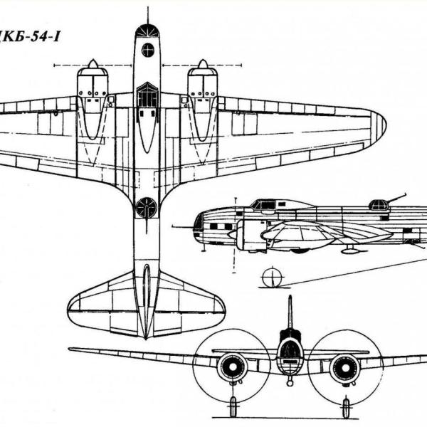 9.ЦКБ-54-1. Схема 1.