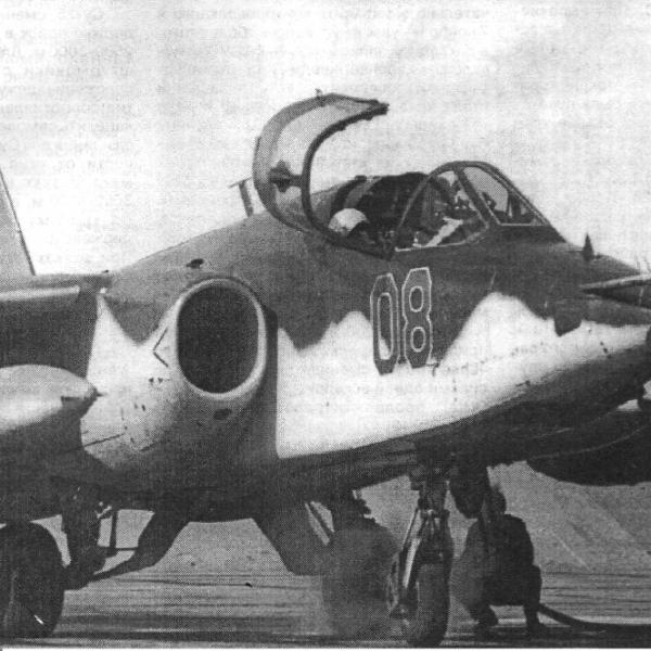 9.Жаркое небо Афганистана. Штурмовик Су-25.