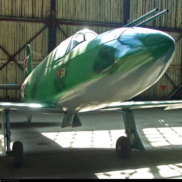 9а.Ракетный истребитель-перехватчик БИ в музее ВВС Монино