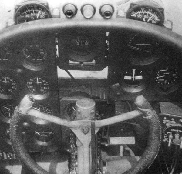 9в.Кабина пилота Ил-4.