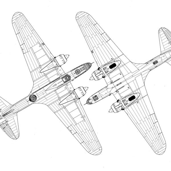ДБ-3Ф М-88. Схема 2.