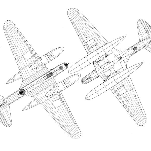 ДБ-3ТП. Схема 2.