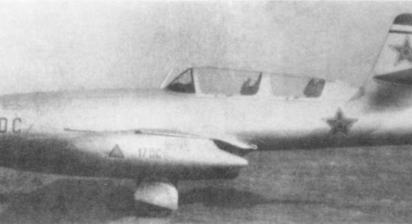 Jak-23DC (doubla comanda) ВВС Румынии.