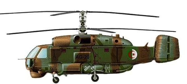 Ка-32С ВВС Алжира. Рисунок 2.