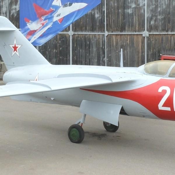 Ла-15 после реставрации в музее ВВС Монино.