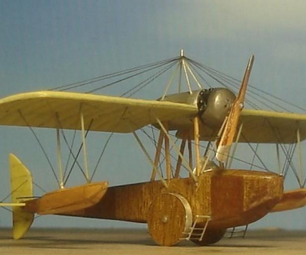 Модель летающей лодки Г.А.Фриде.