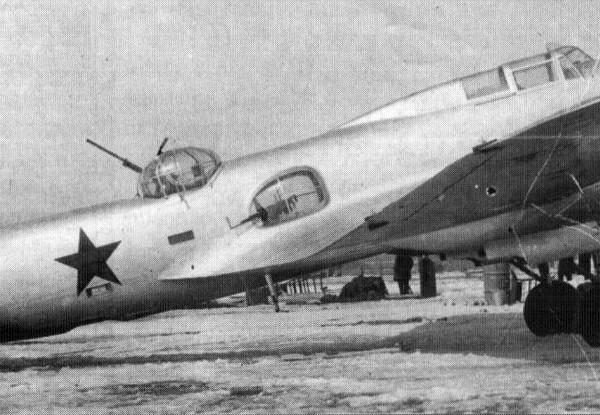 Опытный ЦКБ-54-2 на стоянке.