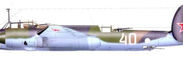 Ту-2 (1947). Рисунок.