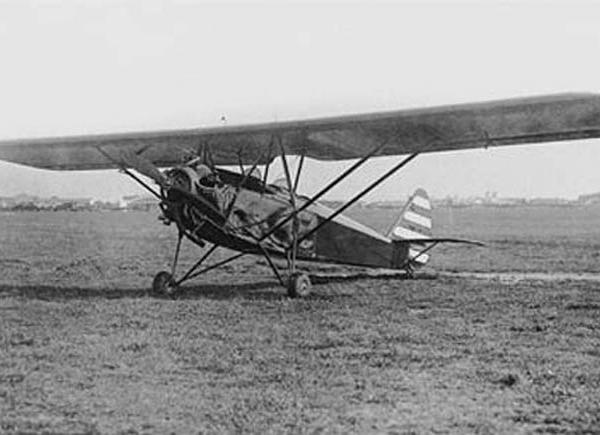 1.АИР-8. Москва, Центральный аэродром. 1934 г. 1