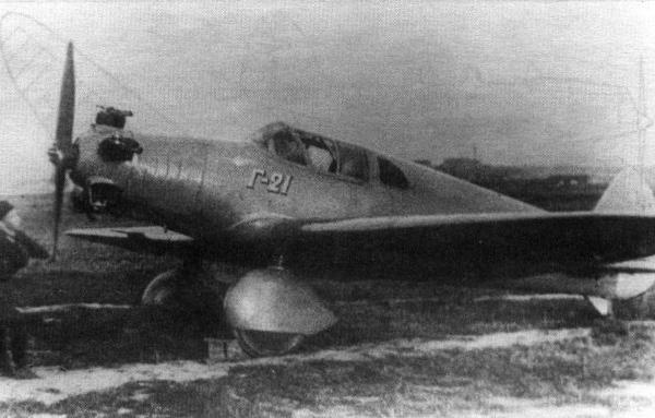 1.Легкий самолет Г-21.
