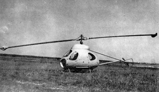 1.Легкий вертолет В-7.