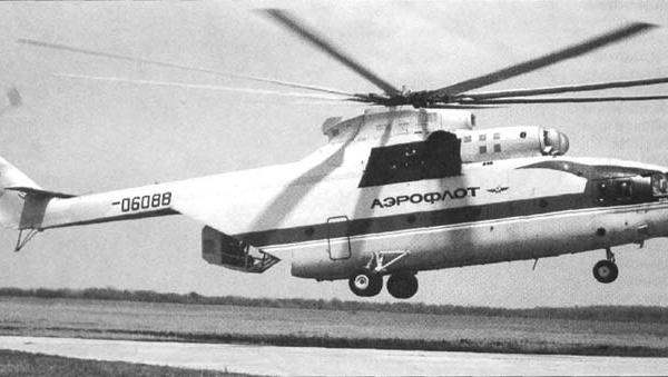 1.Ми-26ТМ с задней кабиной пилота-оператора