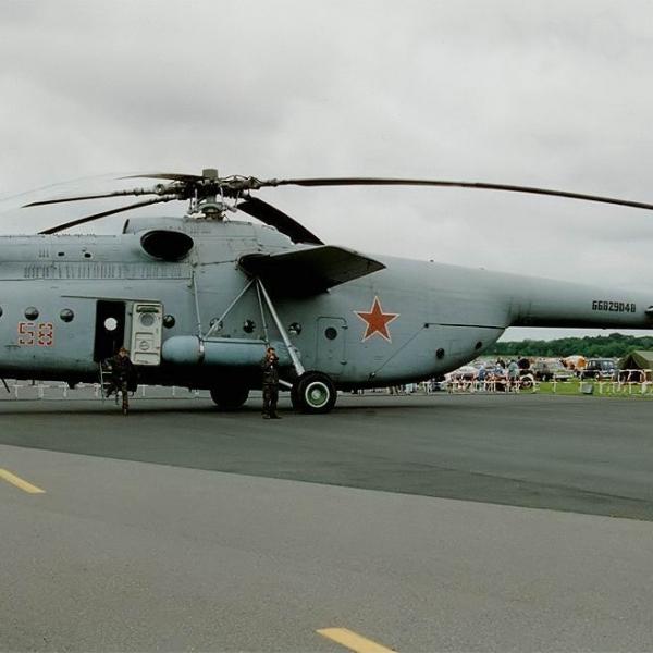 1.Ми-6А на стоянке.