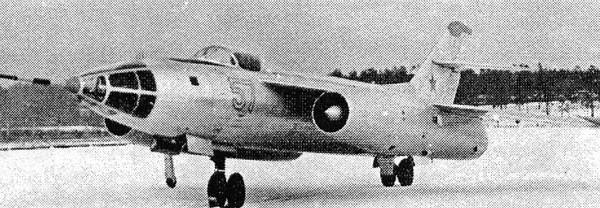 1.Опытный Як-129-1.
