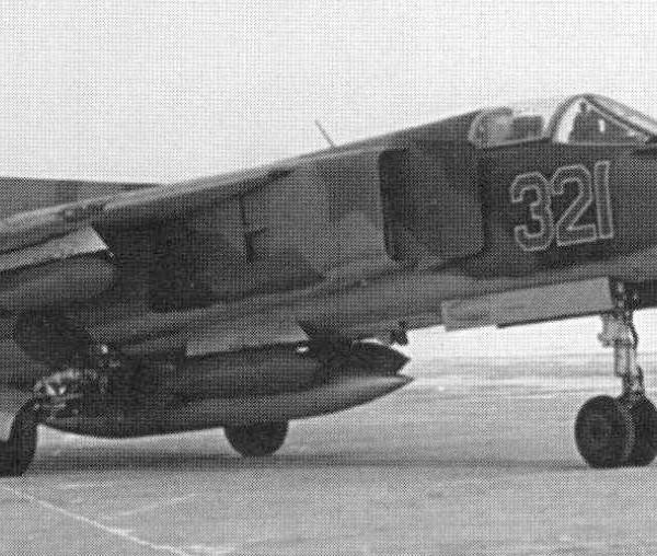 1.Первый прототип МиГ-23Б (32-24-1).