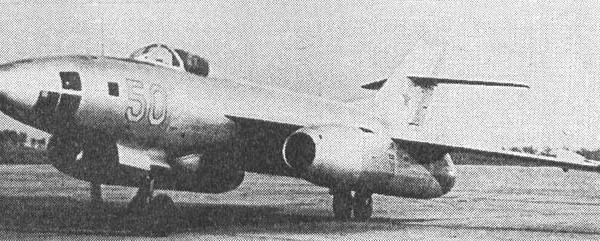 1.Первый прототип Як-123-1 до модификации