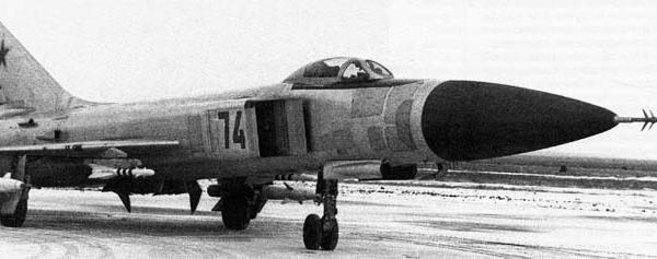 1.Первый серийный Су-15ТМ.