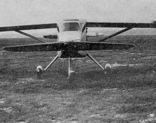 1.Первый вариант МиГ-8 Утка.