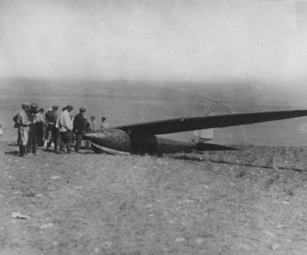 1.Планер БИЧ-6 Дракон конструкции В.Н.Черановского.