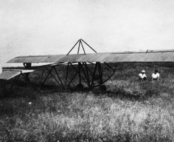 1.Планер КПИР-3 в Коктебеле. 1925 г.