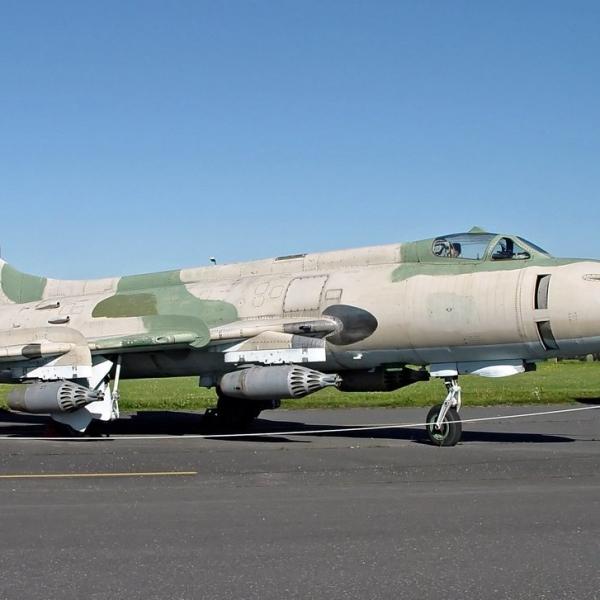 1.Су-20 закупленный у Египта Германией