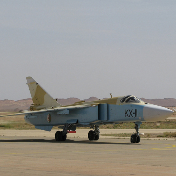 1.Су-24МК ВВС Алжира.
