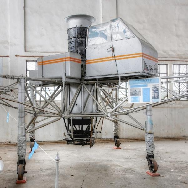 1.Турболет в музее ВВС Монино.