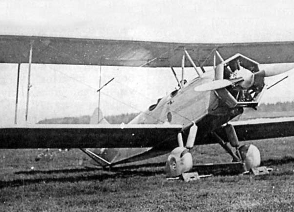 1.Учебный самолет У-3.