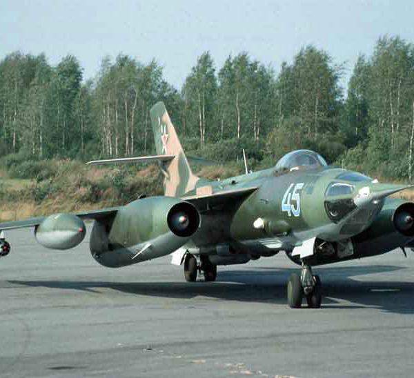 1.Як-28ПП 151го авиаполка РЭБ.