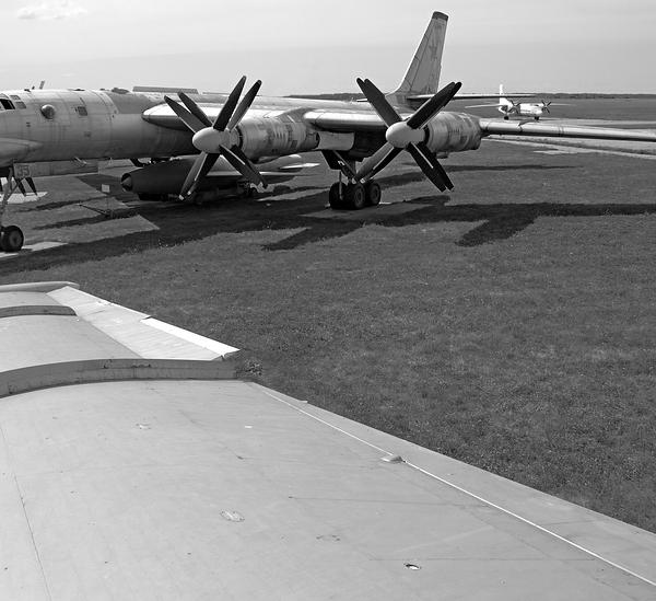 10.Ту-95К в музее Дальней авиации.