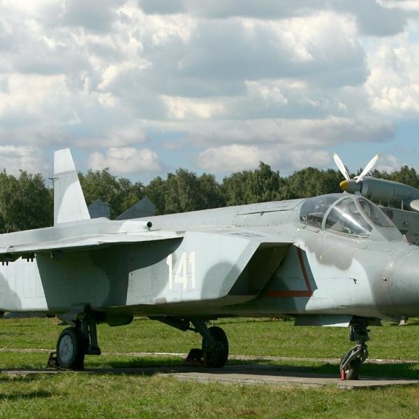 10.Як-141 в музее ВВС Монино.