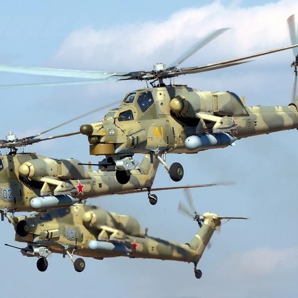 10а.Ми-28А первых серий.