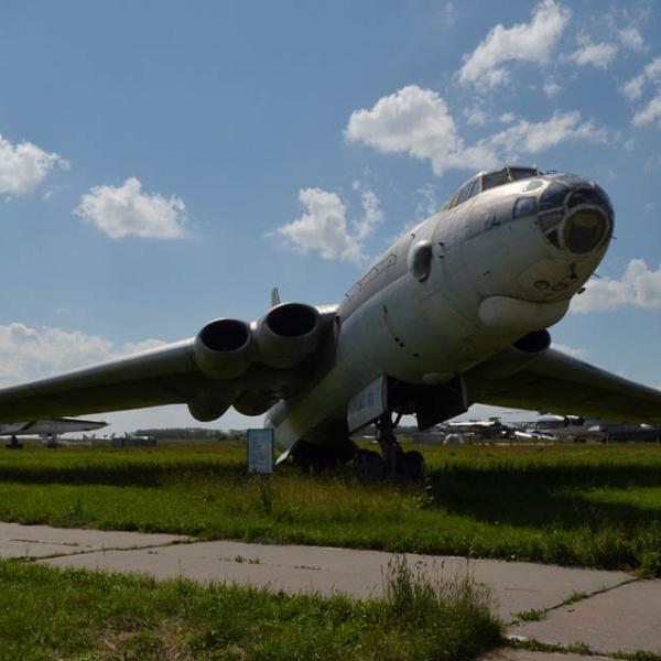 10а.Воздушный танкер М-4-2 в музее дальней авиации Дягилево.