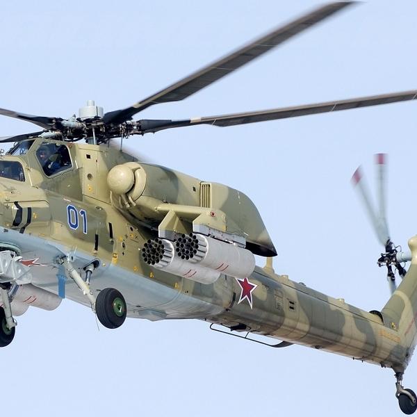 10б.Ударный вертолёт Mи-28А выпуска 2009 г. Буденновск.