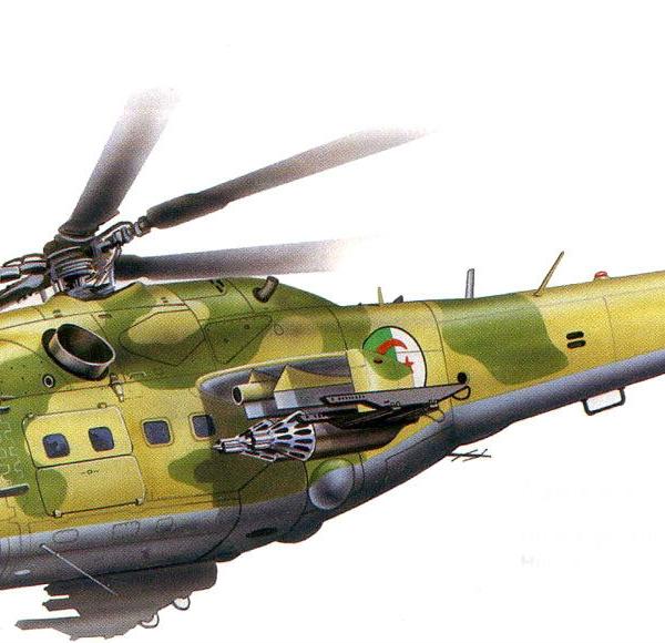 13.Ми-24А ВВС Алжира. Рисунок. 1