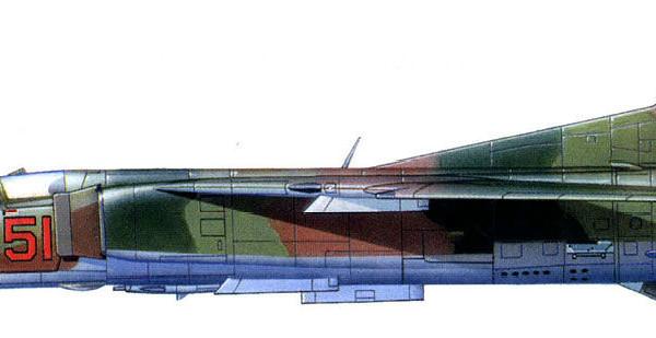 13.МиГ-23БН ВВС СССР. Рисунок.