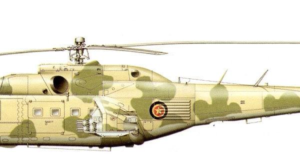 13а.Ми-24А ВВС Эфиопии. Рисунок 1.