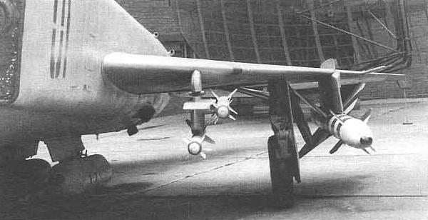 14.Экспериментальная подвеска ракет Р-60