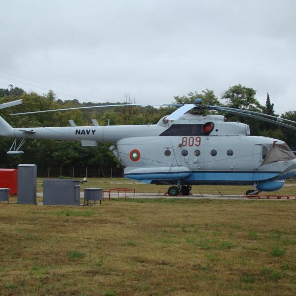 14.Ми-14ПЛ ВМС Болгарии на стоянке.