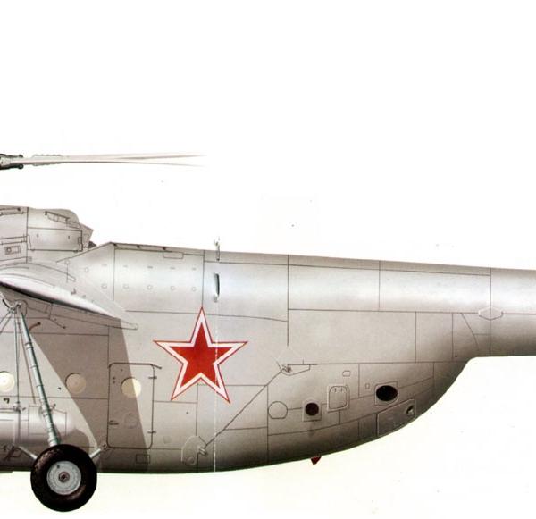 14.Ми-6 ВВС СССР. Рисунок.