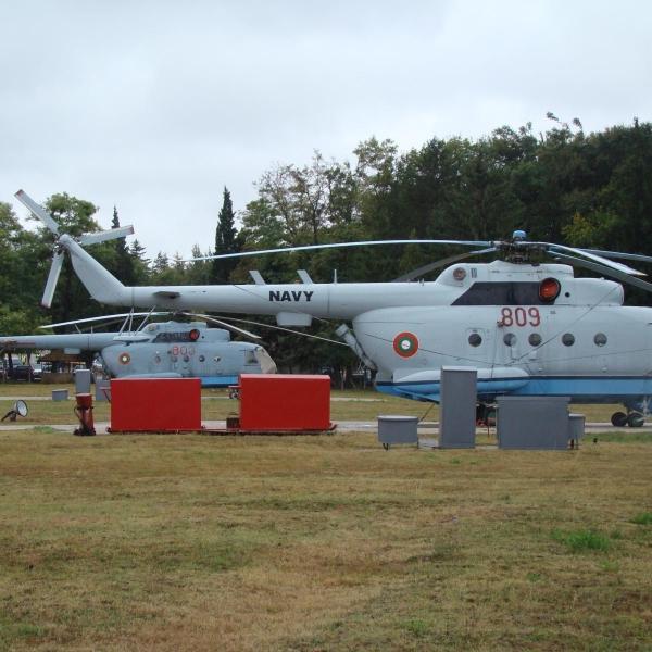 15.Ми-14ПЛ ВМС Болгарии на стоянке. 2
