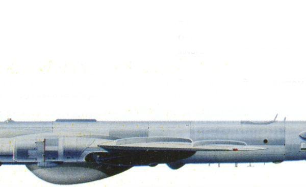 15.Ту-95РЦ. Рисунок.