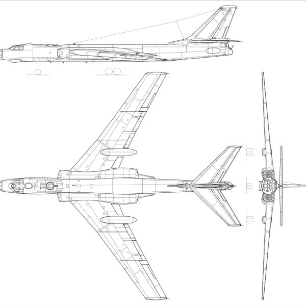 16.Ту-16. Схема 3.