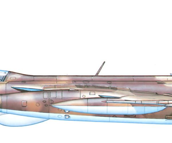 16.Як-28Р. Рисунок.