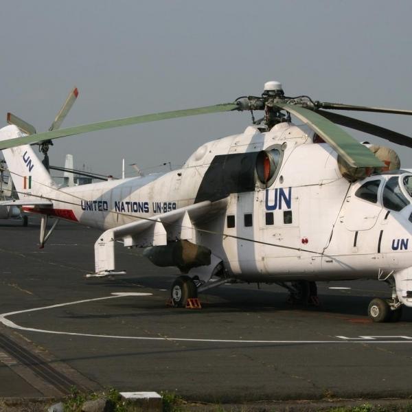 1а.Ми-25 из состава ООН.