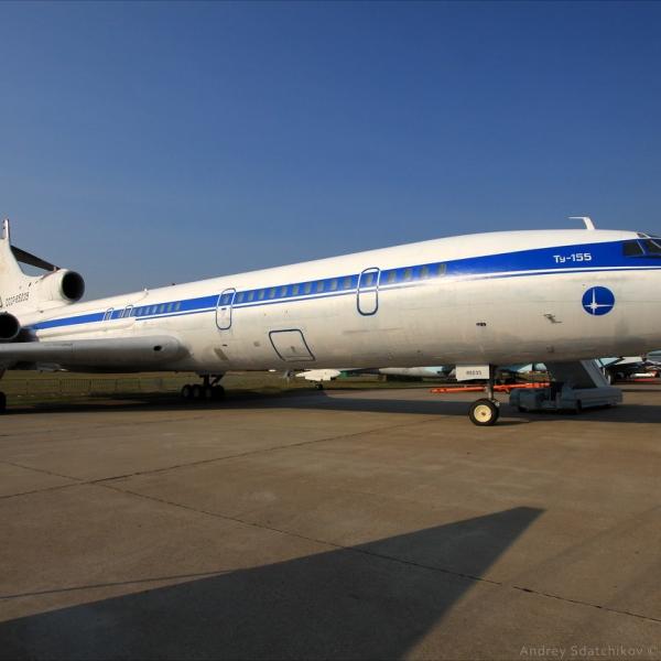 1а.Ту-155 на аэродроме ЛИИ им.Громова.