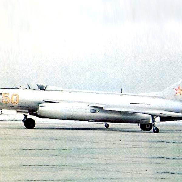 1б.Первый прототип Як-123-1 (Як-26-1) после доработок.