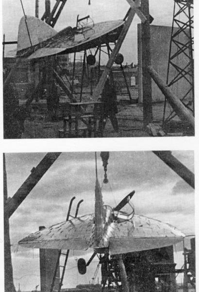1б.Стрела на наземном стенде. Апрель 1938 г.