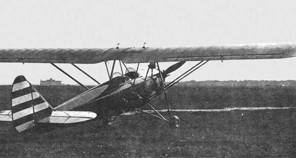 2.АИР-8. Москва, Центральный аэродром. 1934 г. 2