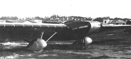 2.Десантный планер Г-31 Яков Алкснис.